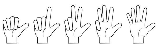 10 шаблонов анимации рук