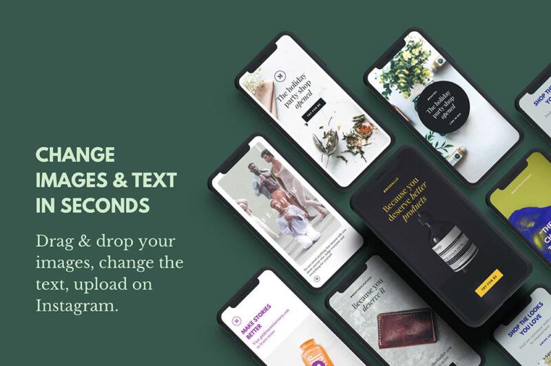 150+ Бесплатных шаблонов для Инстаграм Сторис и постов