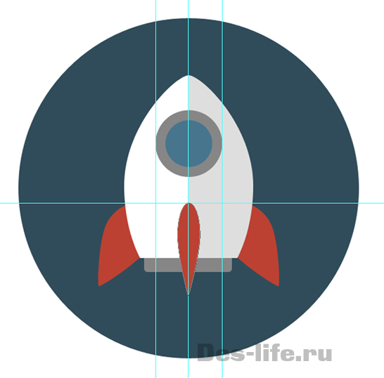 stylish-flat-space-icons-in-adobe-photoshop-11