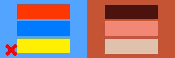 Как сделать насыщенные цвета