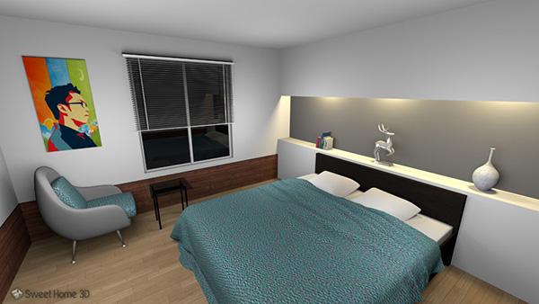 Sweet Home 3D программа для дизайна интерьера