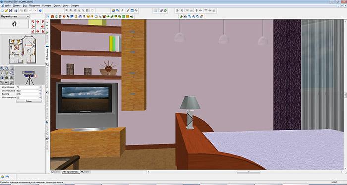 Floor Plan 3d программа для дизайна интерьера