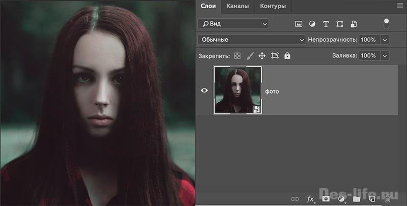 Живое фото для Инстаграм в Photoshop. Анаглиф-эффект + исходник