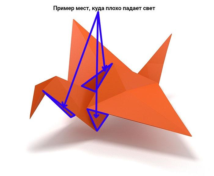 Рисуем оригами в Adobe Photoshop