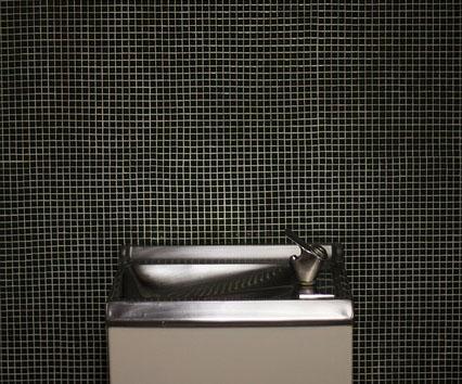 Дизайн интерьера ванной комнаты - мозаика