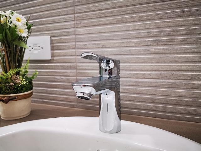 Дизайн интерьера ванной комнаты - горизонтальный рисунок