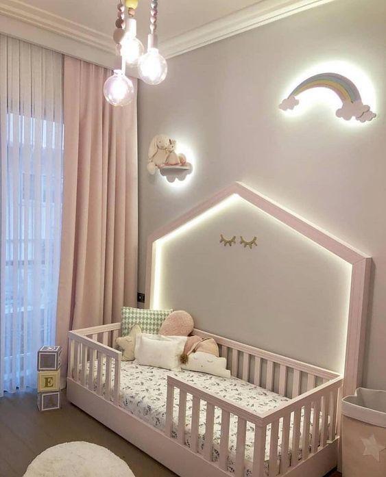 ночники в детской комнате