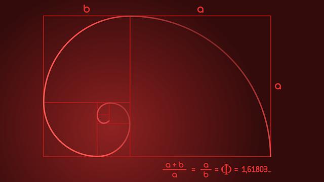 главное композиция - золотой прямоугольник