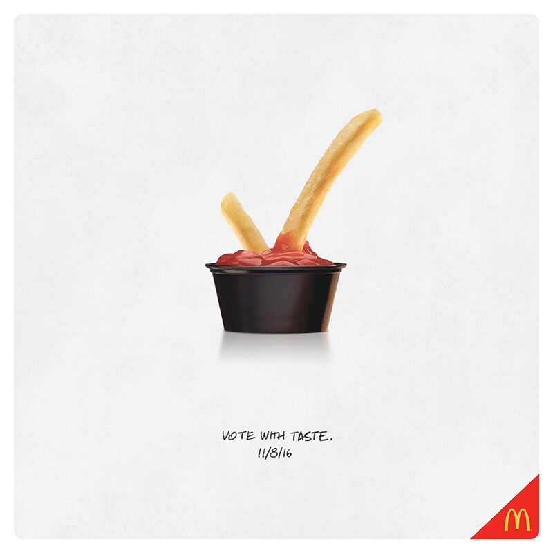 Креативная реклама McDonalds