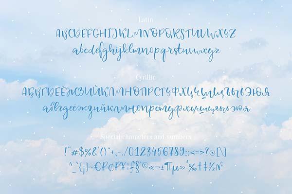 креативные шрифты (кириллица + латиница)