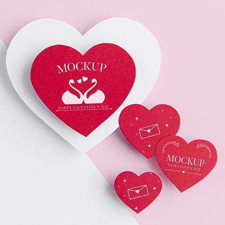 Бесплатные шаблоны на день святого Валентина - валентинка