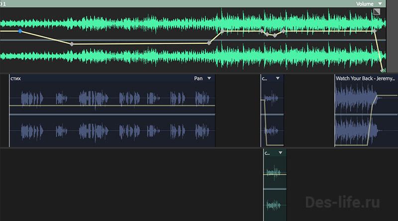 Как сделать звук тише или громче в Adobe Audition