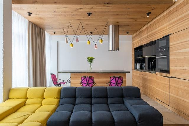Дизайн кухни 12 кв.м. - китч