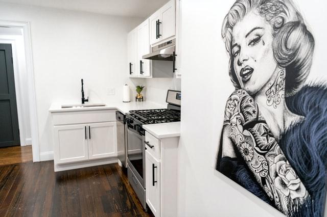 Дизайн кухни 12 кв.м. - Г-образная планировка
