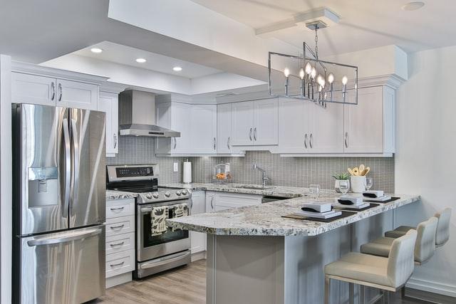Дизайн кухни 12 кв.м. - С-образная планировка