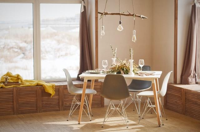 Дизайн кухни 12 кв.м. - скандинавский стиль
