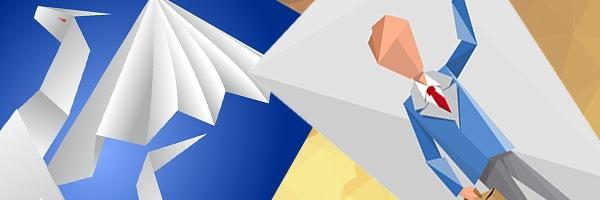 Оригами - новый тренд в дизайне