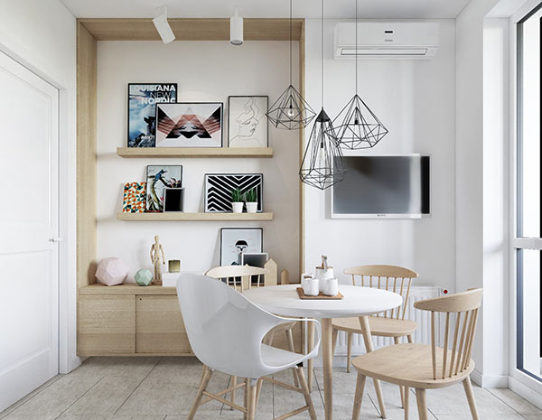 Скандинавский стиль в современном дизайне интерьера