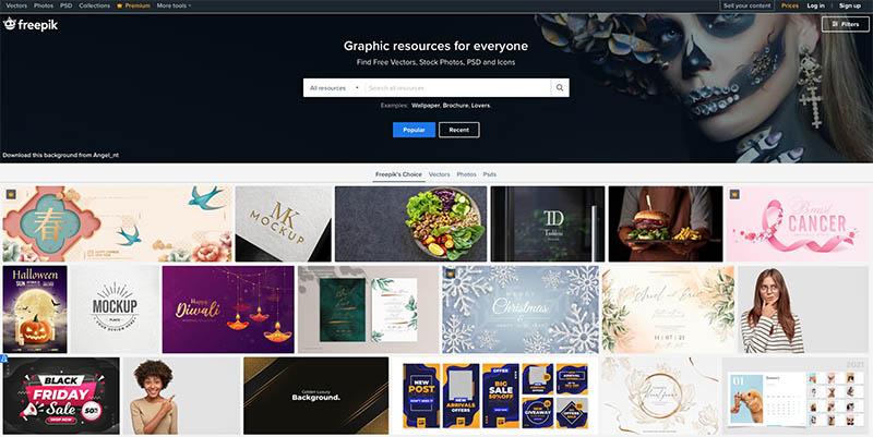 ТОП 8+ сайтов с бесплатными ресурсами для дизайнера