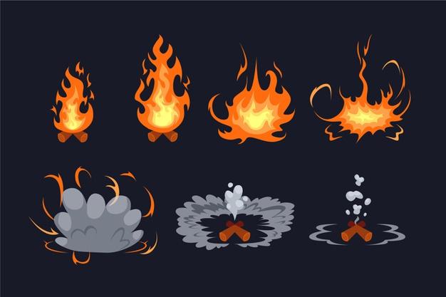 Шаблоны и референсы для анимации явлений и эффектов