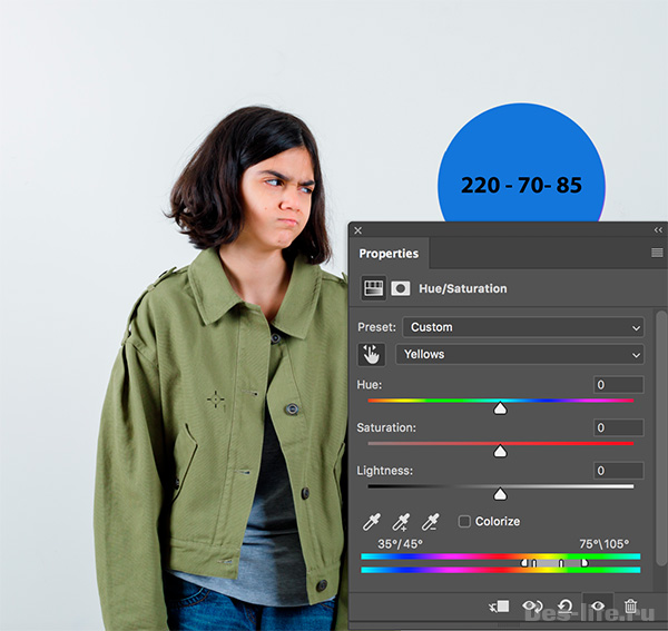 Вся правда о том, как изменить цвет объекта в Photoshop