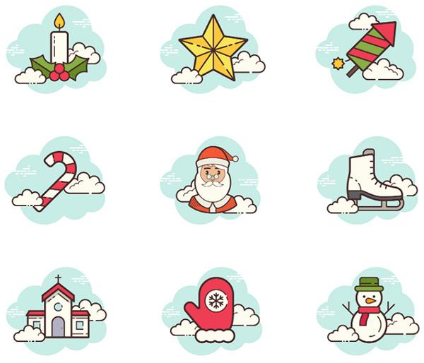 Топ 10 бесплатных новогодних иконок для вашего сайта