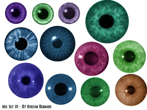 ТОП 20 кистей для ретуши портретов в Photoshop - линзы для глаз
