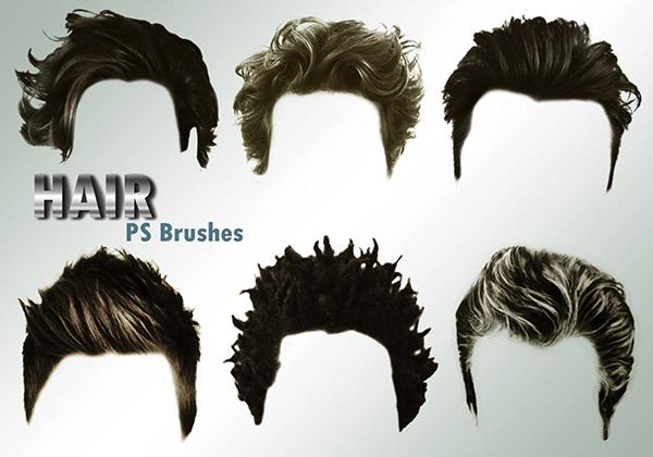 ТОП 20 кистей для ретуши портретов в Photoshop - волосы