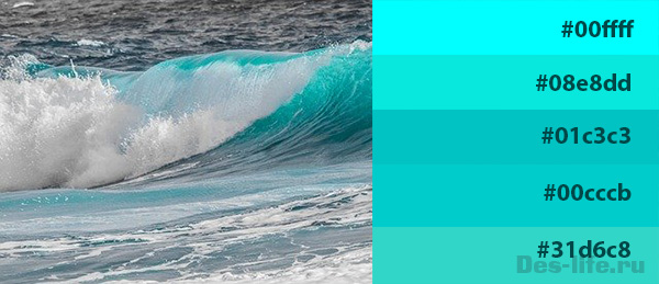 Бирюзовый цвет в интерьере. Внесите в комнату морскую атмосферу!